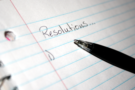 New Year's Resolutions - 2017