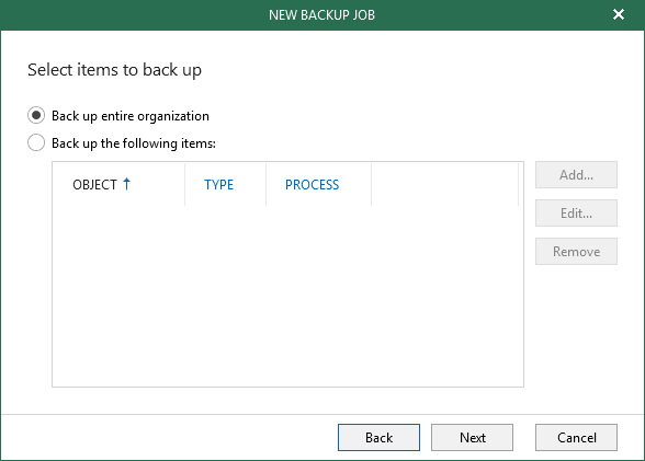 Getting Selective with Veeam Backup for Microsoft Office 365