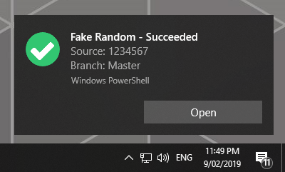 Fake-succeeded
