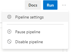 PipelineSettings