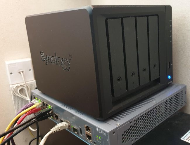 Synology DS920+ NAS in Home Lab