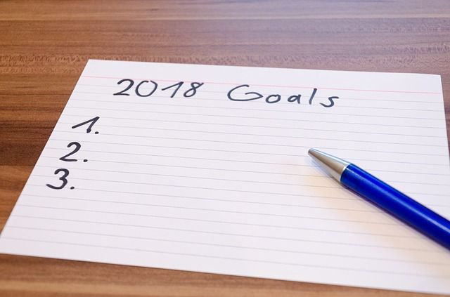 New Year's Resolutions - 2018